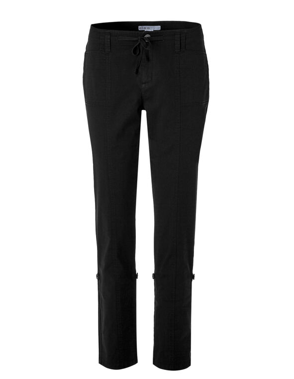 Black Every Body Roll Up Pant, Black, hi-res