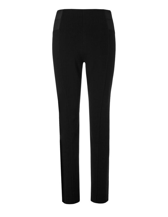 Black High Waist Pull-On Legging, Black, hi-res