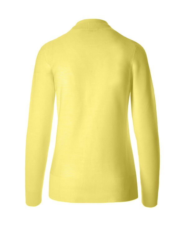 Yellow Topper Sweater, Yellow, hi-res