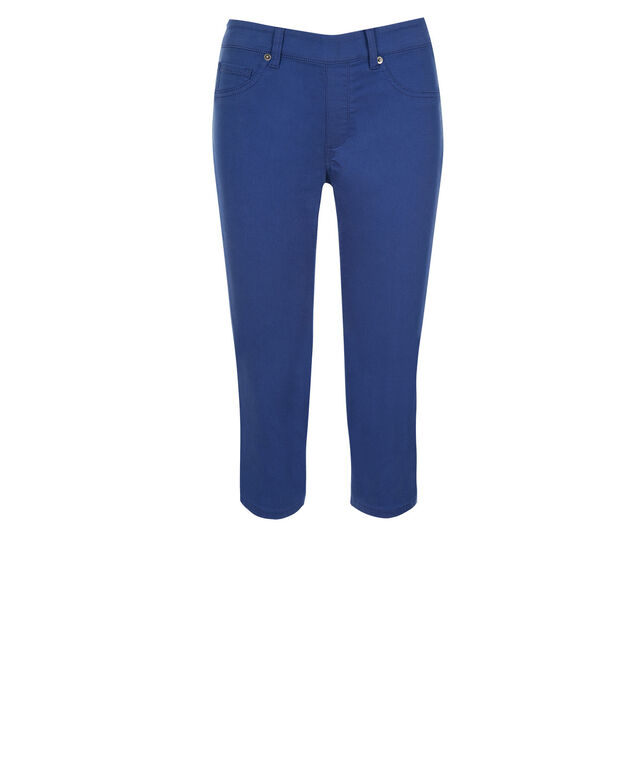 Ultimate Ultra Soft Capri Jegging, Marine Blue, hi-res