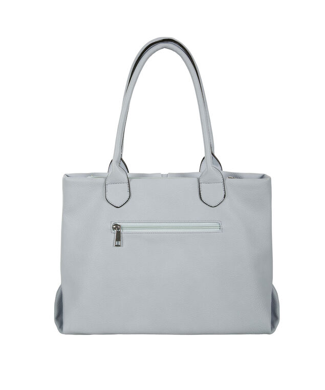 Knot Front Bag, Pastel Blue, hi-res