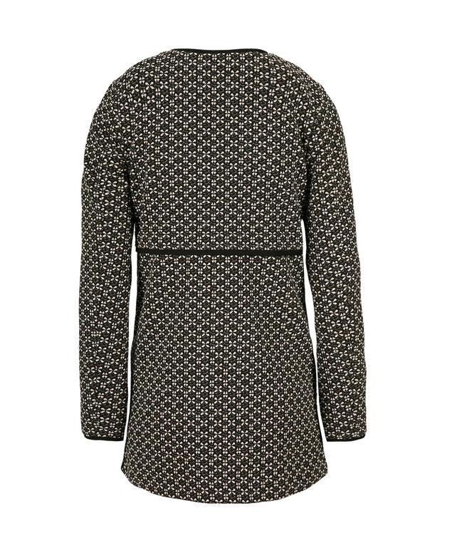 Pattern Car Coat, Black Pattern, hi-res