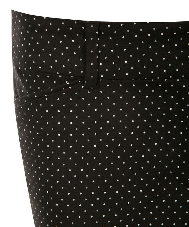 Sateen Polka Dot Ankle , Milkshake/Grey/Black, hi-res