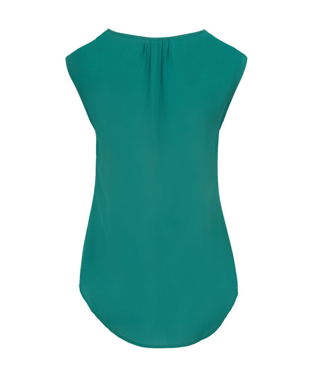 Extended Sleeve Henley, Tropical Teal, hi-res