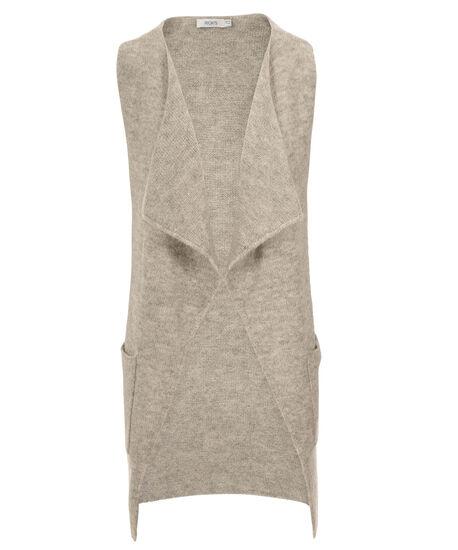 Mossy Vest, Light Grey, hi-res