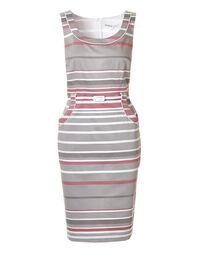 Stripe Print Shift Dress