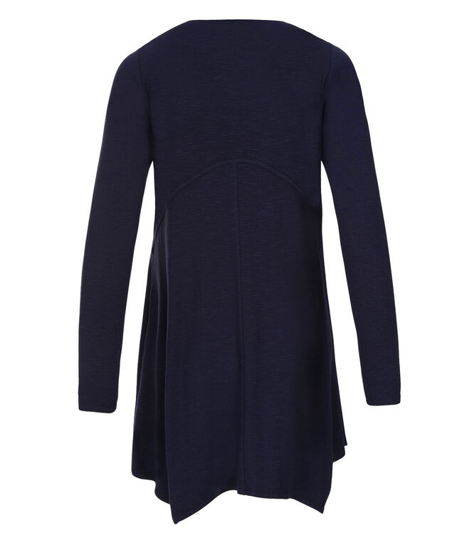 Back Seamed Cardi, Deep Blue, hi-res