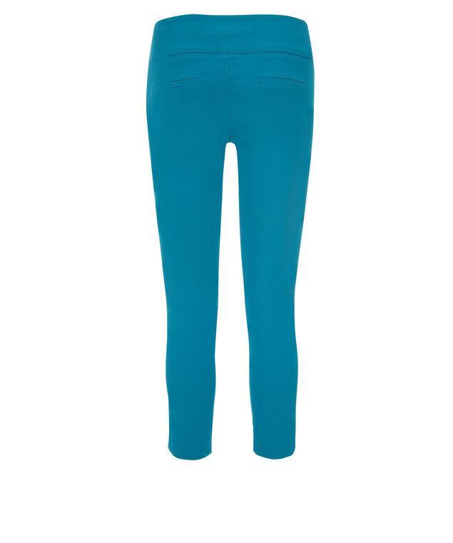 Microtwill Crop Super Slim Leg , Turquoise, hi-res