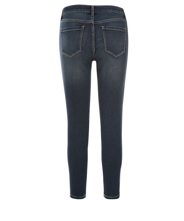 Brooke Power Stretch Slim Crop Jean, Denim, hi-res