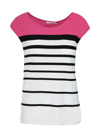 Striped Colourblock Tee