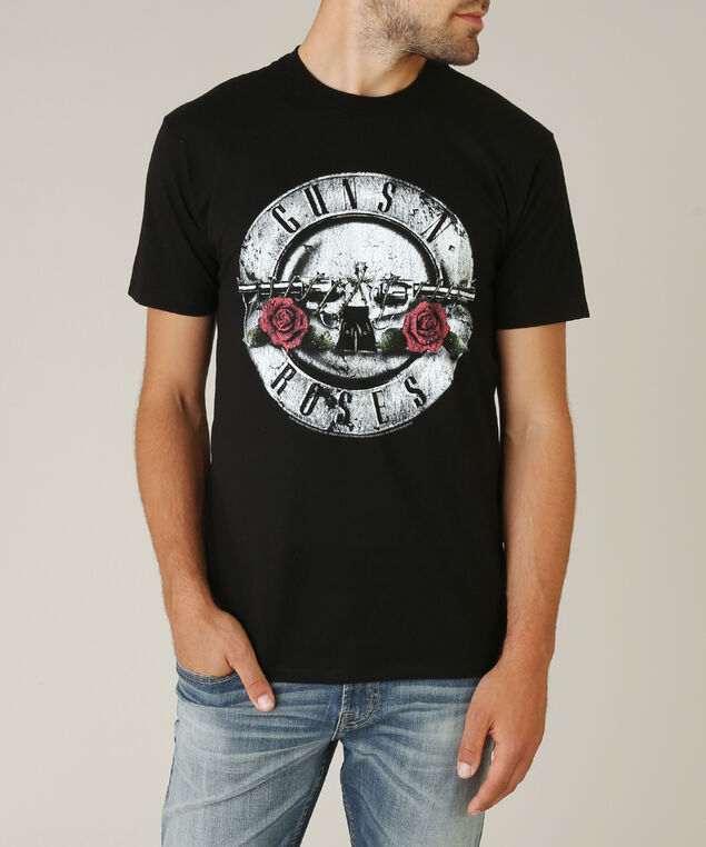 guns n' roses tee, BLACK, hi-res