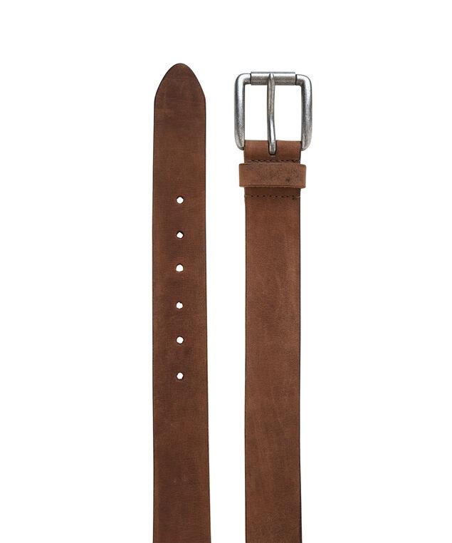 leather brown belt, BROWN, hi-res