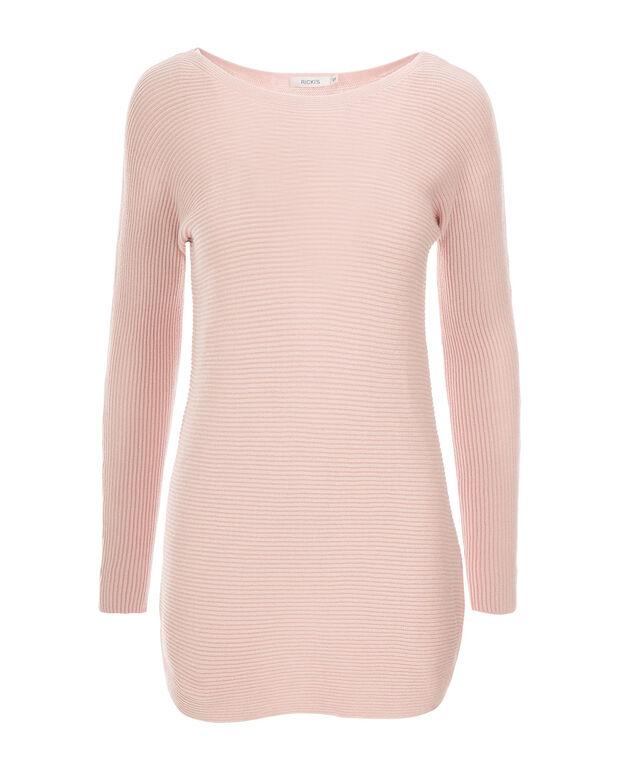 Ribbed Tunic, Pink Blush, hi-res