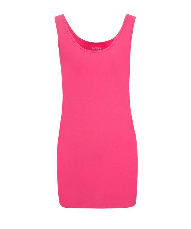 Tunic Length Cami, Vibrant Pink, hi-res