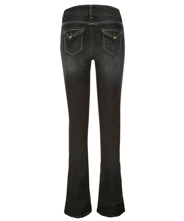 One5One Flap Pocket Bootcut Jean, Denim, hi-res