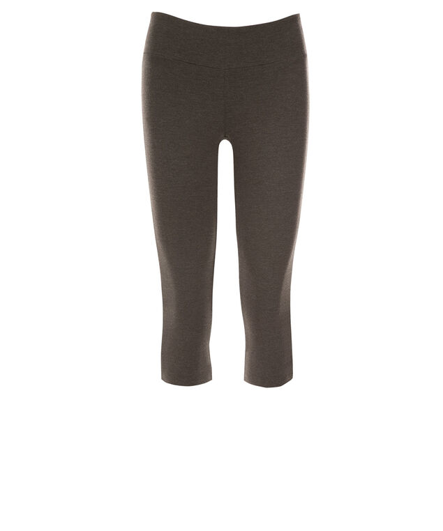 Knit Capri Legging, Charcoal, hi-res