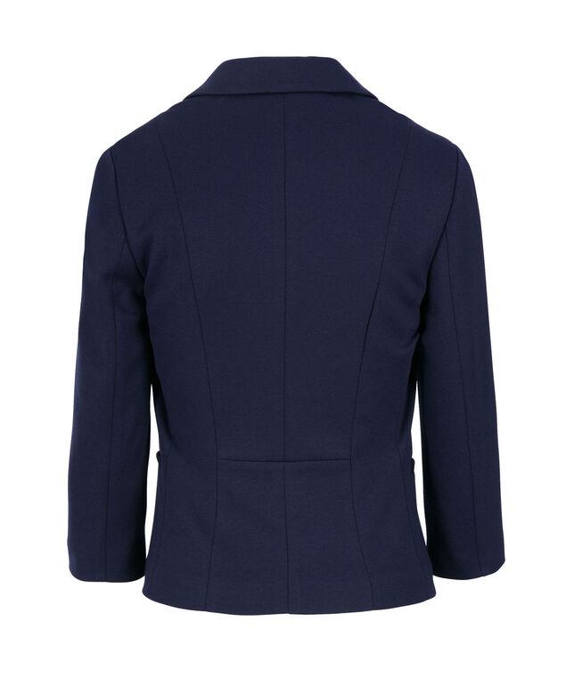 Knit Nautical Blazer, Deep Blue, hi-res