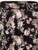 Floral Print Trumpet Skirt, Black/Pink/White/Olive, hi-res