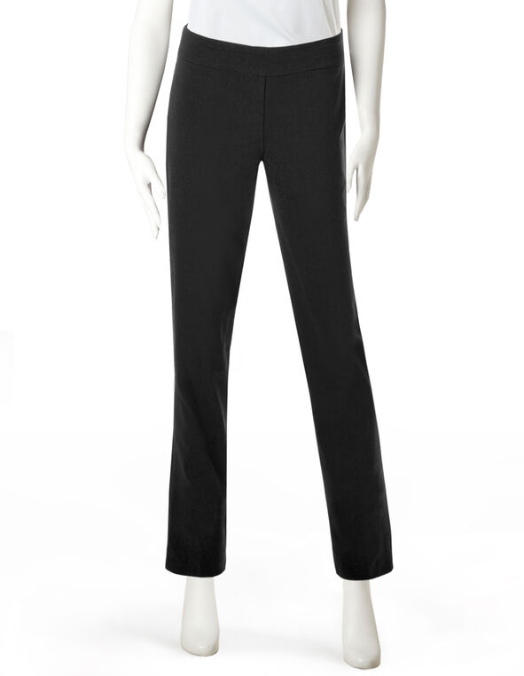 Black Signature Slim Pant, Black, hi-res