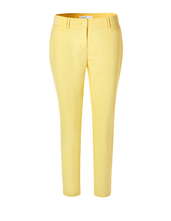Yellow Every Body Ankle Pant, Yellow, hi-res
