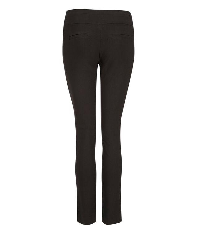Microtwill Super Slim Leg , Black, hi-res