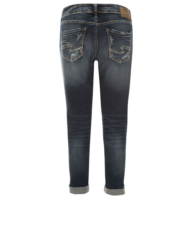 Silver Jeans Co. Sam Cuffed Jean, Denim, hi-res
