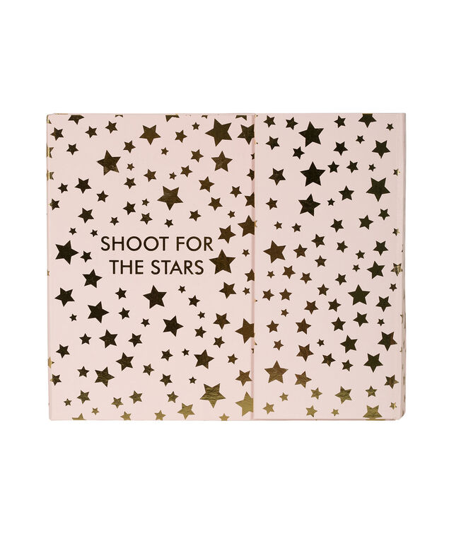 Shoot For The Stars Weekly Organizer, Pink/Gold, hi-res