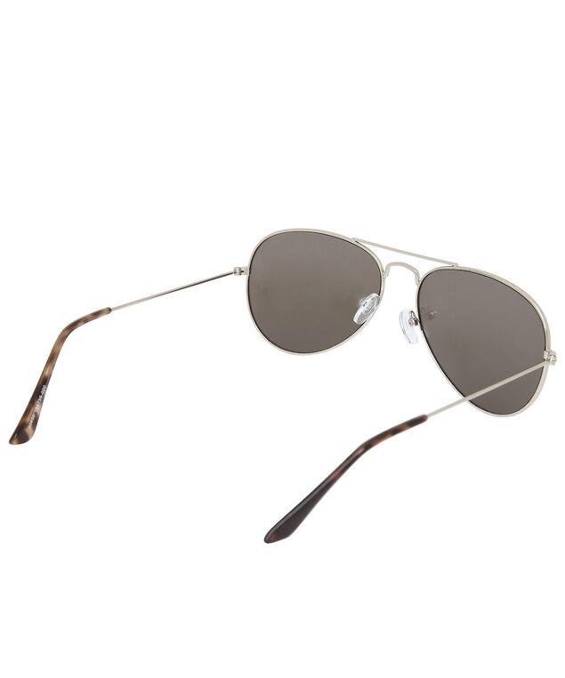 mirror lense metal aviator, SILVER/MIRR, hi-res