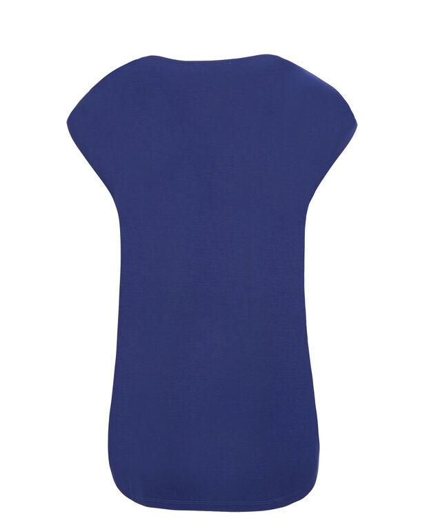 Extended Sleeve Tee, Sapphire Print, hi-res