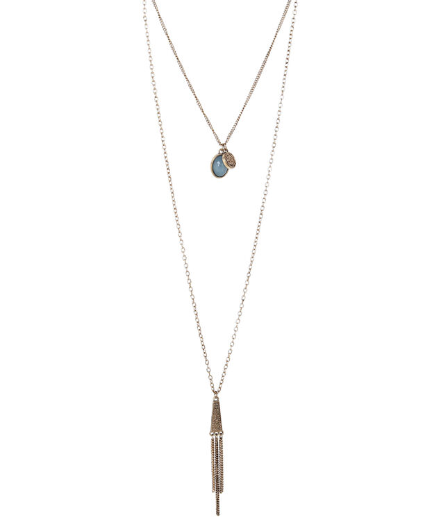 long double necklace, ANT GOLD, hi-res