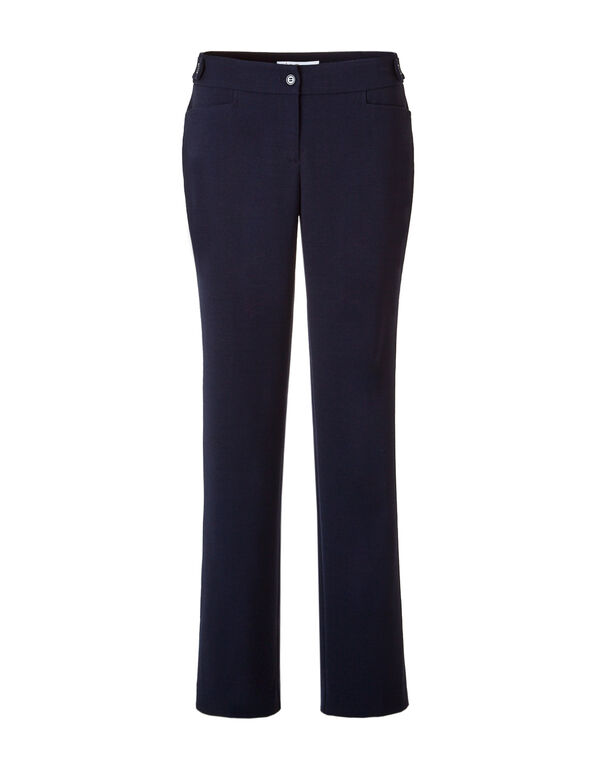 Every Body Navy Straight Leg Pant, Navy, hi-res