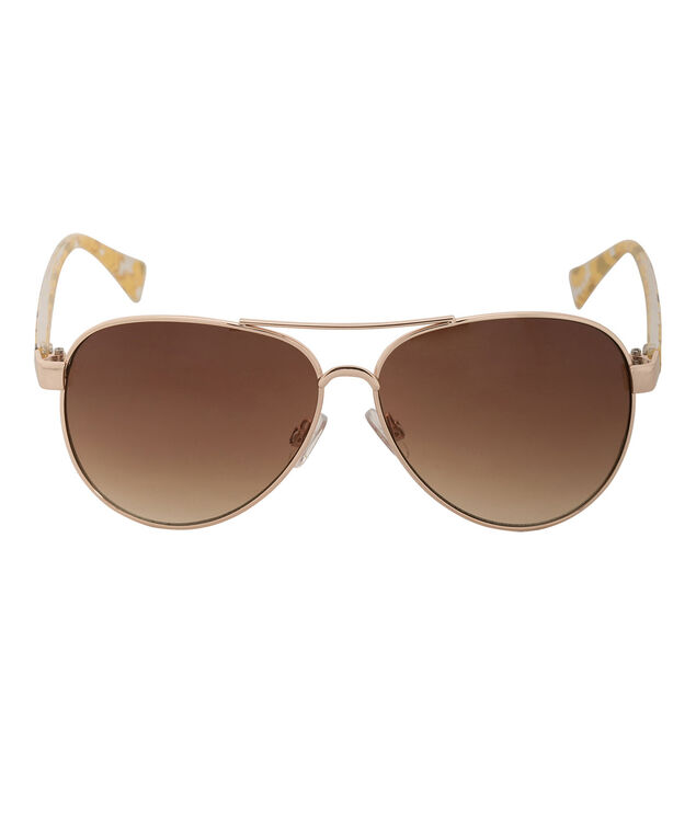Daisy Design Sunglasses, Yellow/Gold, hi-res