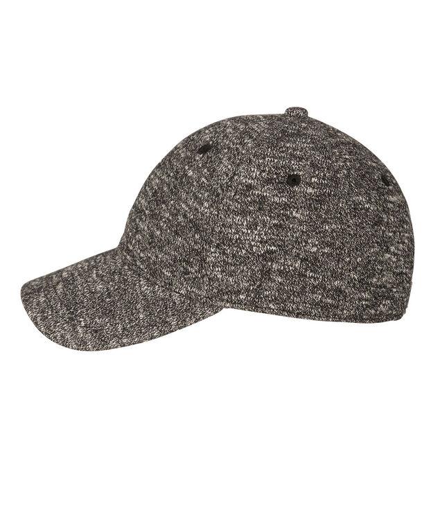 Terry Cloth Baseball Cap, Black Mix, hi-res