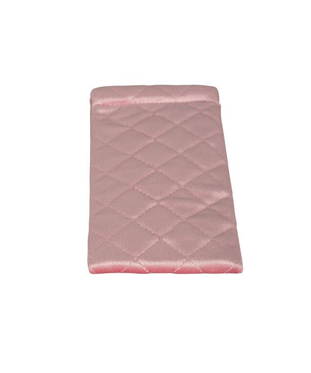 Diamond Pattern Sunglass Case, Pink, hi-res