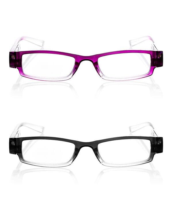 LED Reader Set, Berry/Black/Clear, hi-res