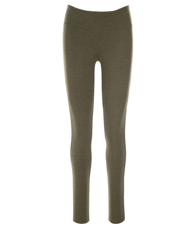 Knit Legging, Olive Melange, hi-res