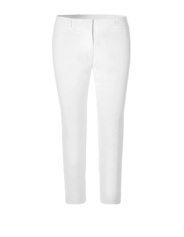 White Every Body Crop Pant, White, hi-res