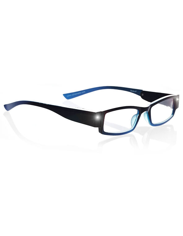 LED Blue Frame Reader, Blue/Black, hi-res