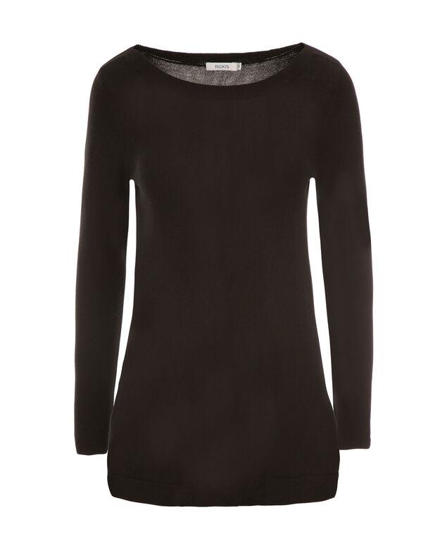 A-Line Pullover, Black, hi-res