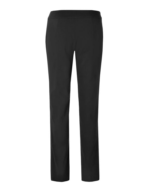 Black Signature Slim Leg Pant, Black, hi-res