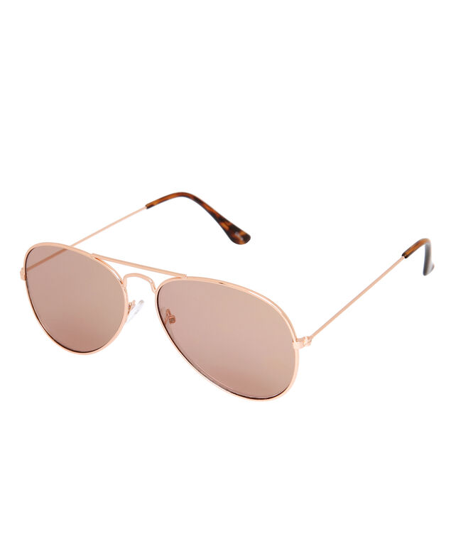 aviator with mirror lense, ROSE GOLD, hi-res
