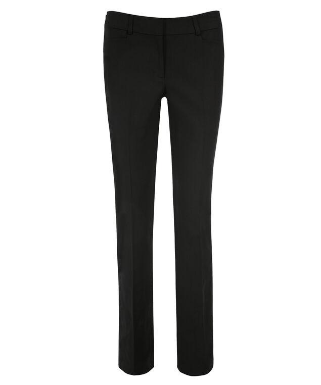 Double Weave Straight Leg, Black, hi-res