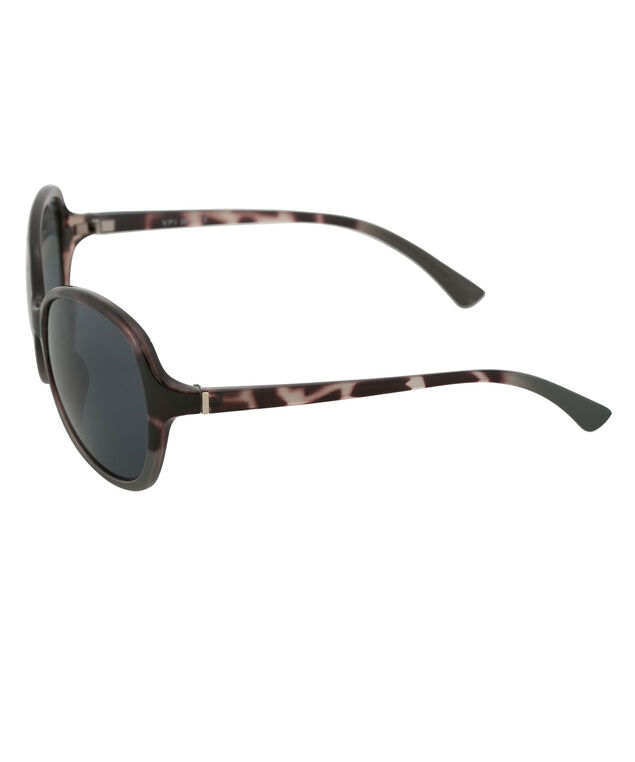 Ombre Animal Print Sunglasses, Purple/Grey, hi-res