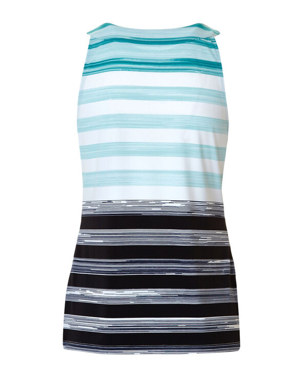 Faded Stripe Halter Top, Navy/White/Rio Frio/Mint, hi-res