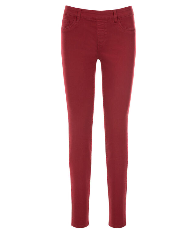 Ultimate Power Stretch Jegging, Deep Red, hi-res