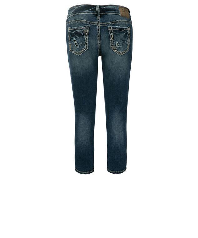Silver Jeans Co. Elyse Capri, Denim, hi-res