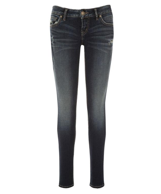 Silver Jeans Co. Aiko Destruction Jean, Denim, hi-res
