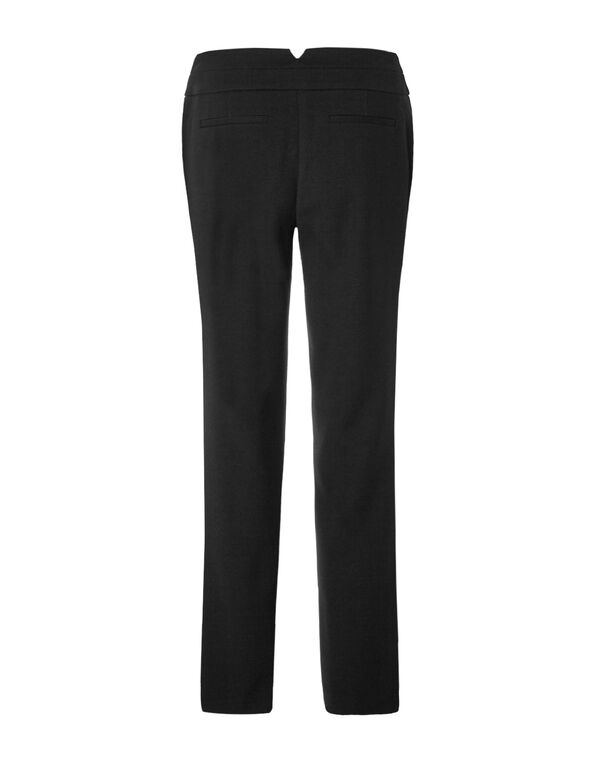 Curvy Straight Leg Pant, Black, hi-res