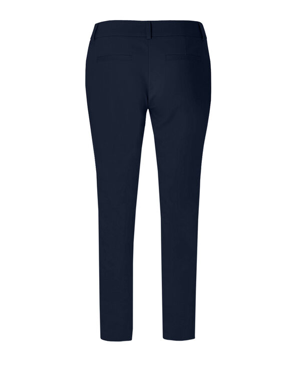 Navy Curvy Fit Ankle Pant, Navy, hi-res