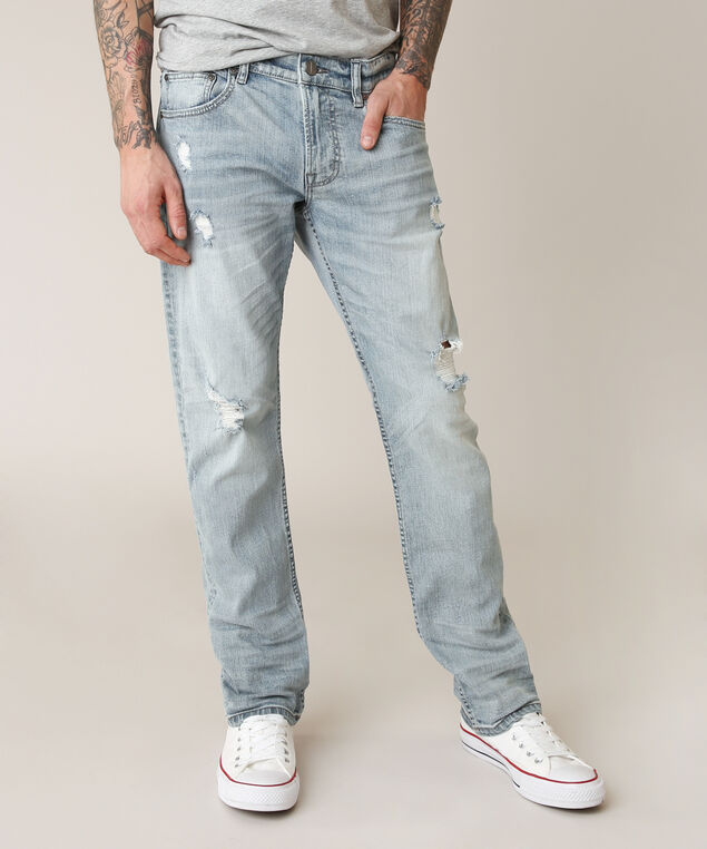 slim straight ripped lsw, , hi-res